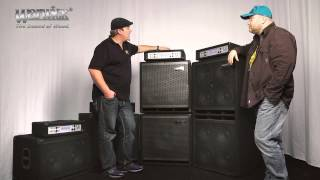 The Warwick WA Amphead and WCA Cabinet Series - with Ove Bosch and Andy Irvine