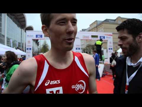 Haspa Hamburg Marathon 2015: Bester Deutscher Julian Flügel zu NDR & Algerien Heute
