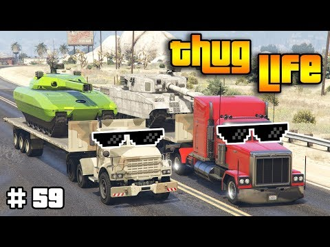 GTA 5 ONLINE : THUG LIFE AND FUNNY MOMENTS (WINS, STUNTS AND FAILS #59) thumbnail