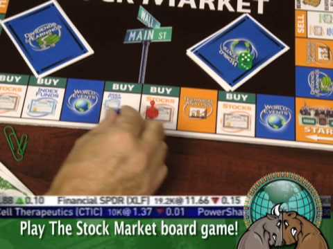 Play The Stock Market Board Game