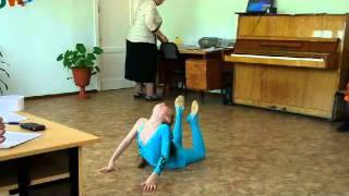 Гимнастический танец(, 2011-05-19T14:07:20.000Z)