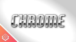Inkscape Tutorial: Metallic Chrome Style Text