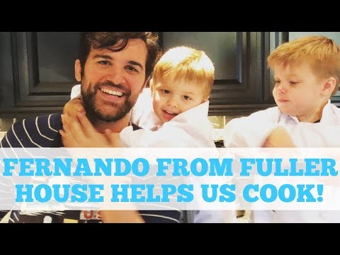 Fuller House twins cook with Juan Pablo di Pace