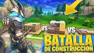 JUGANDO A BATALLA DE CONSTRUCCIONES EN EL NUEVO *PATIO DE JUEGOS* de FORTNITE: Battle Royale - Roier