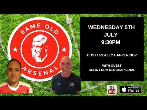 Episode #17   Is It Really Going to Happen   Lacazette Signs for Arsenal