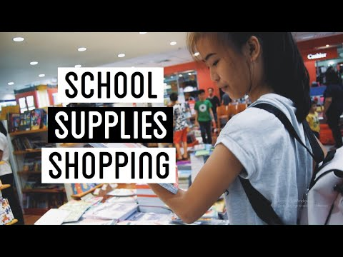 School Supplies Shopping + Chibog Everywhere  | Casey Robles