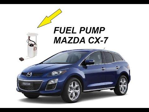 Service Fuel Pump Mazda Cx 7 Youtube