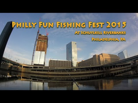 2015 Philly Fun Fishing Fest at the Schuylkill Riverbanks - Philadelphia, PA