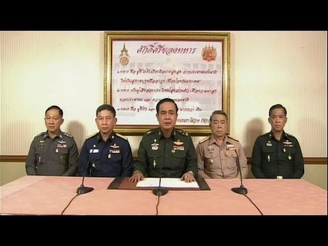 Thai army chief announces coup after months of turmoil