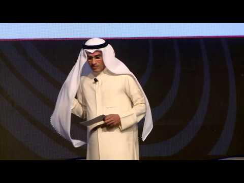 Mohamed Alabbar speaking at Arabian Business Forum