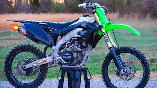 THE 450 IS BACK TO LIFE!   2013 KX450F Build Part 7