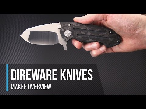 Direware Knives High End Production Custom Maker Overview