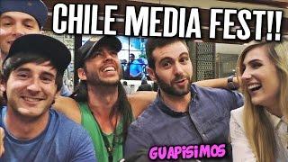 el vlog del club media fest de chile   haciendo hamigos