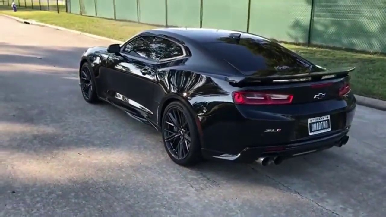 2017 Chevrolet Camaro Zl1 Mive Sound 650hp