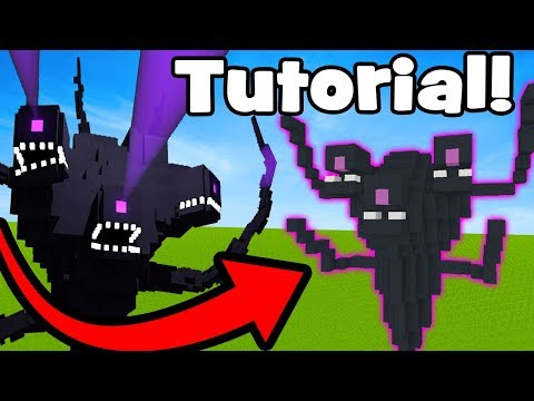 """Minecraft Tutorial: How To Make A Wither Storm Statue """"Wither Storm House"""""""