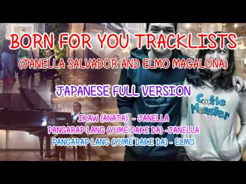 Born For You TRACKLISTS 2 (Japanese Full Version) Elmo and Janella