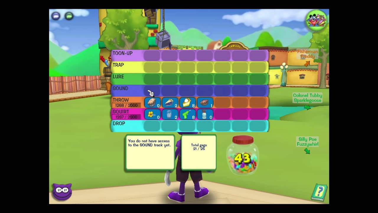 Toontown Rewritten Basic Strategy Guide Youtube
