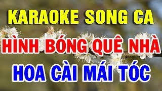 Liên khúc Karaoke Song Ca Nhạc Sống Thôn Quê Cực Hay   Cha Cha Cha Hình Bóng Quê Nhà   Trọng Hiếu