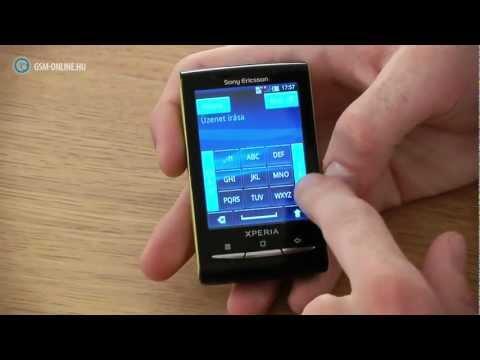 Sony Ericsson Xperia X10 mini teszt - GSM online™