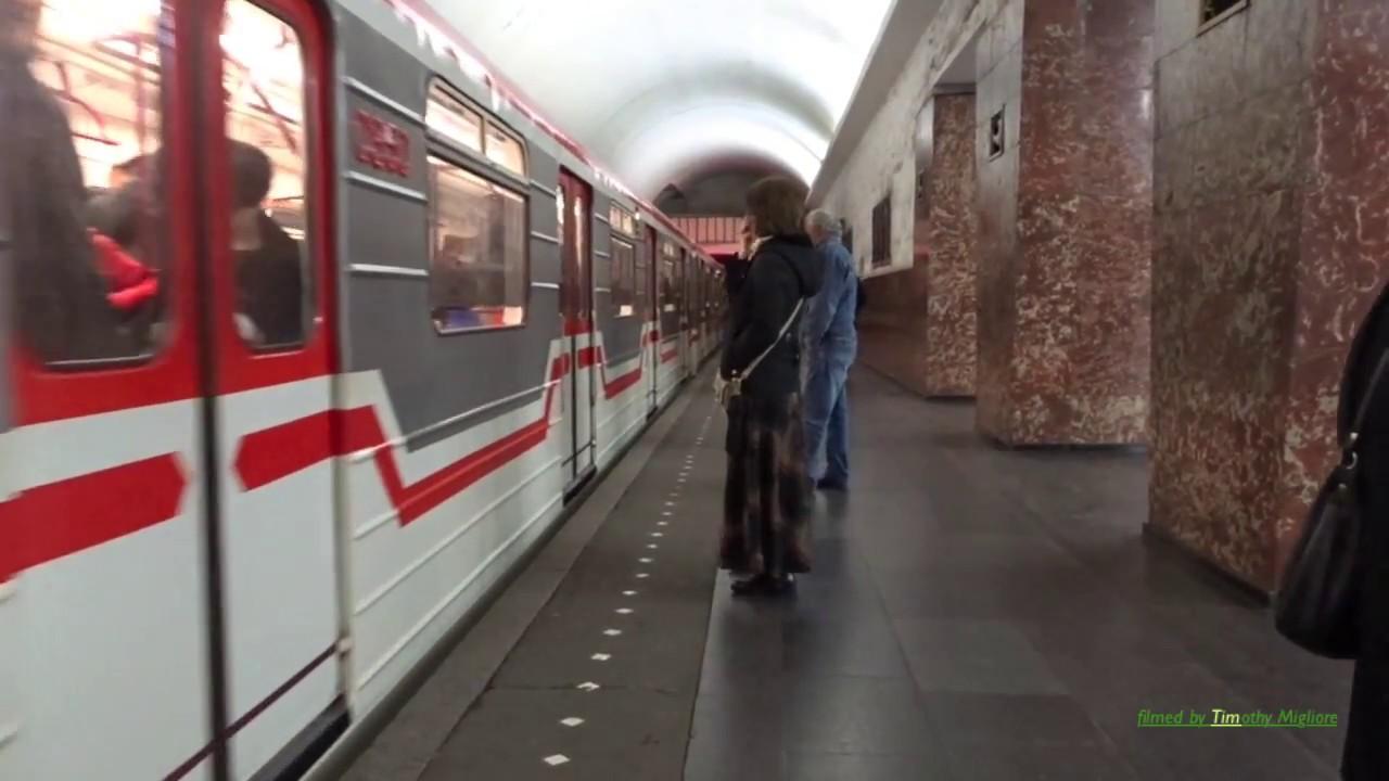 მეტრო თბილისში  The Metro in Tbilisi Georgia 2017