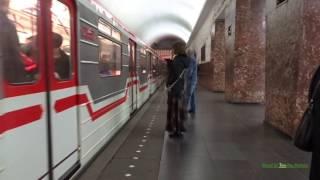 მეტრო თბილისში - The Metro in Tbilisi, Georgia 2017