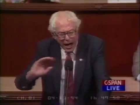 Sanders voting for Clinton Crime Bill 1994