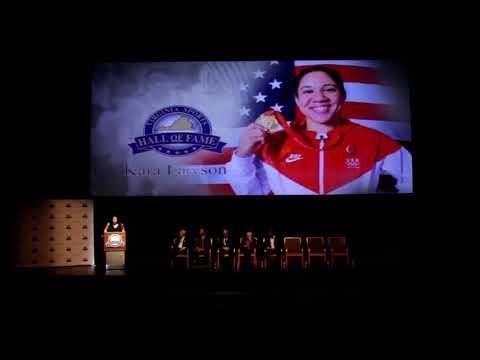 2018 Virginia Sports Hall of Fame - Kara Lawson Induction Speech