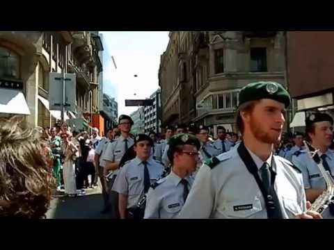 Basel Tattoo Parade 2013 Freie Strasse (full version)Schweiz switzerland suisse svizzera swiss