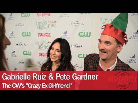 Gabrielle Ruiz & Pete Gardner CrazyExGirlfriend at 84th Hollywood Christmas Parade TheHCP2015