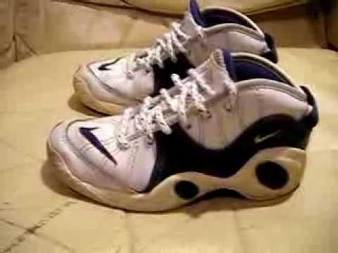 Nike Air Zoom Flight 95 Jason Kidd Original 1995 bianca blu used