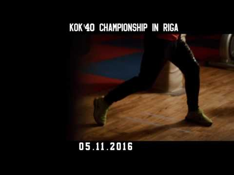 KOK'40 CHAMPIONSHIP IN  RIGA  / 05.11.2016/ BOXING TITLE FIGHT