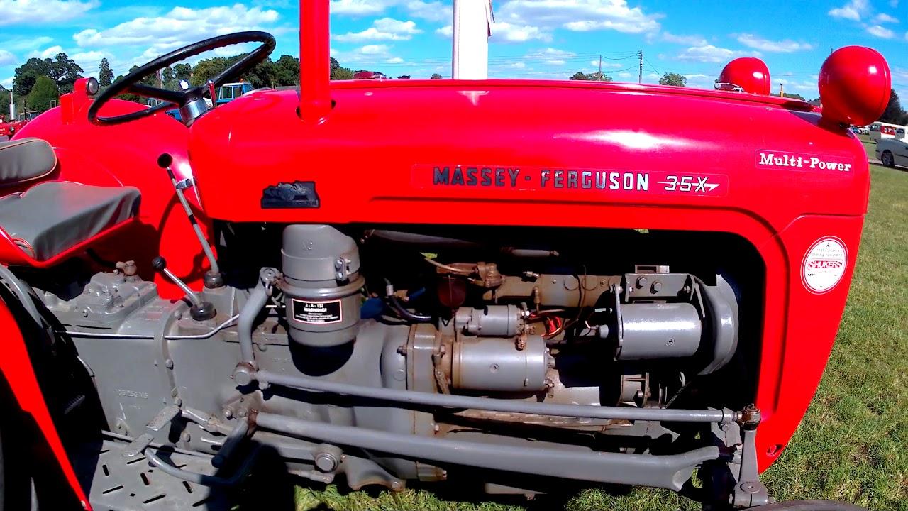 1963 Massey Ferguson 35X 2 5 Litre 3-Cyl Diesel Tractor