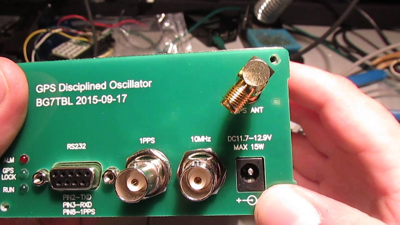 A Look inside the BG7TBL GPS Disciplined Oscillator