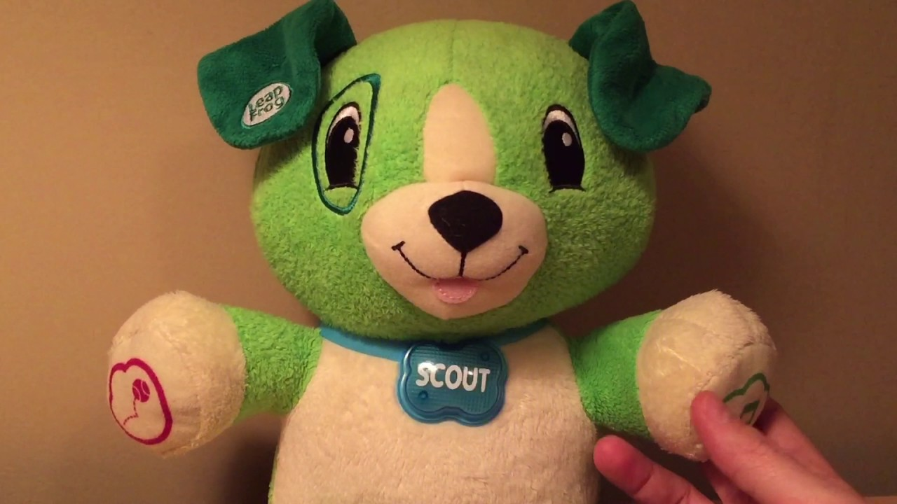 Leapfrog My Pal Scout Talking Puppy Dog Super Fun For Kids Youtube