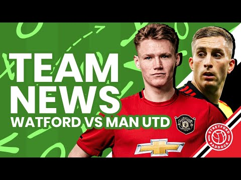 Manchester United Vs Watford | LIVE Team News Reaction | Stretford Paddock