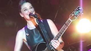 Repeat youtube video Sara Bareilles - I Choose You (at Radio City Music Hall 10/9/13)