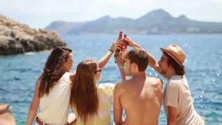 Estrelle Damm 2013 - Videoclip de Cenicero Total #mediterraneamente