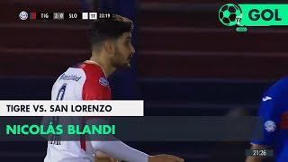 Nicolás Blandi (2-1) Tigre vs San Lorenzo |  Fecha 1 - Superliga Argentina 2018/2019