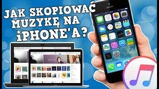 Jak Skopiować/Wgrać/Przenieść Muzykę na iPhone'a?   | iTunes macOS/Windows❗️