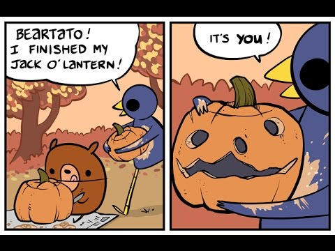 Halloween Comics [Nedroid Fandub]