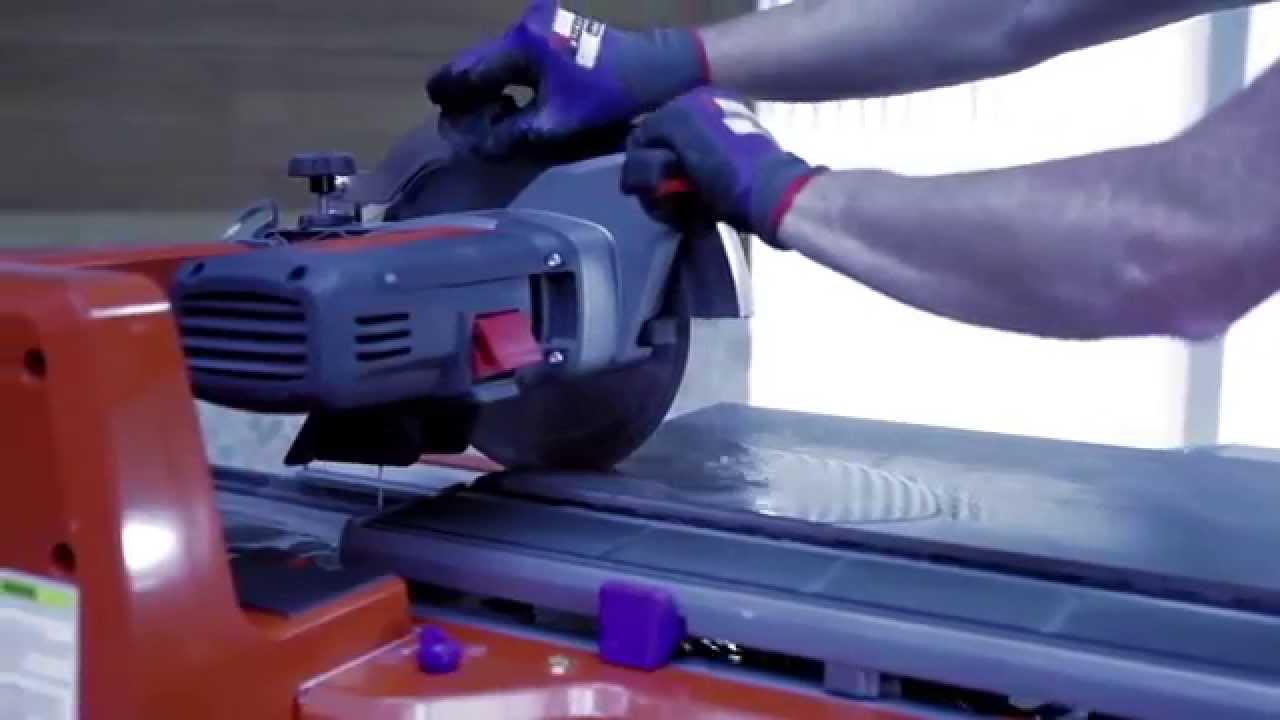 Модернизированный плиткорез Зубр-800с - YouTube