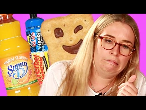 Thumbnail: British Adults Try Sweets From Their Childhoods