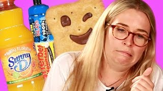 British Adults Try Sweets From Their Childhoods