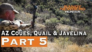 2019 Arizona Coues, Quail & Javelina with Randy Newberg (Part 5)