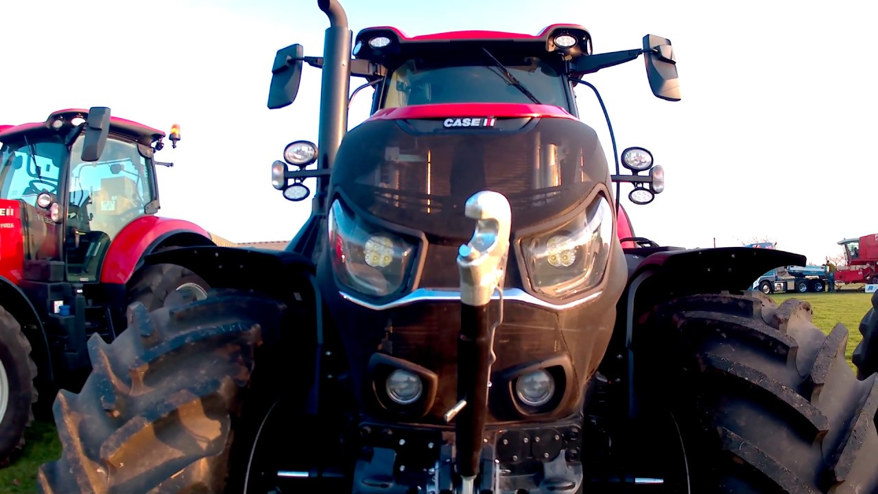 2018 Case IH Optum 250 CVX 6.7 Litre 6-Cyl Diesel Tractor  (250/273HP)