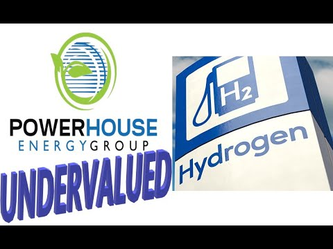 Hydrogen Undervalued Stock !! UK's PowerHouse Energy Group