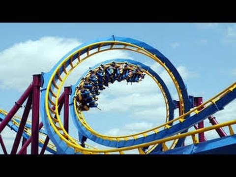 Top 30 Roller Coasters in California Part #2