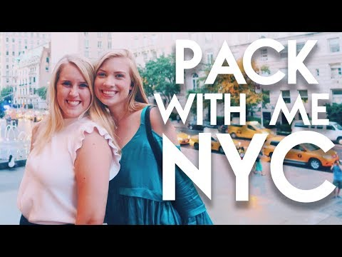 PACK WITH ME // What I'm Bringing to my NYC Summer Internship | Lottie Smalley