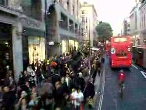 londres double deck bus na oxford street youtube
