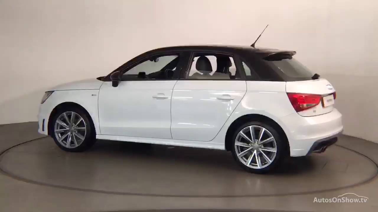fp14afy audi a1 sportback tfsi s line style edition white 2014 nottingham audi youtube. Black Bedroom Furniture Sets. Home Design Ideas